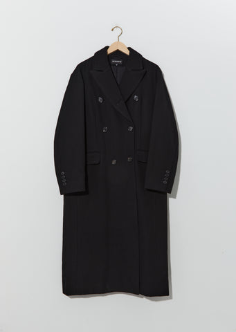 Laine Cotton Double Breasted Coat