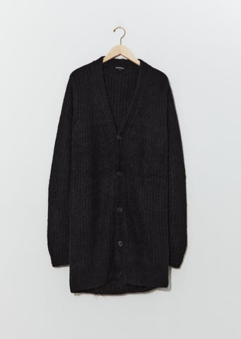 Alpaca & Wool Oversized Knit Cardigan