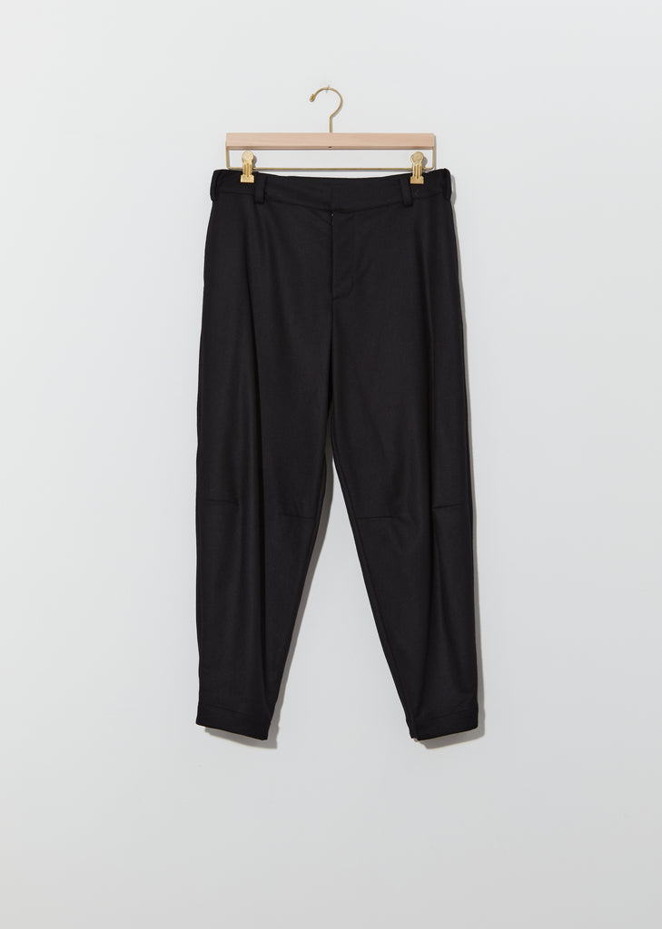 Wool & Cashmere Flannel Engineer Trouser
