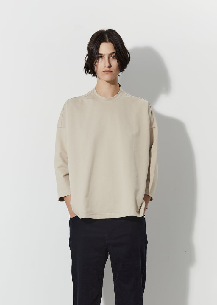 Tissot Fine Cotton Fleece Tee — Cord