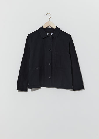 Workwear Odd Pocket Shirt — Ink