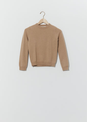 Kid Sweater — Camel