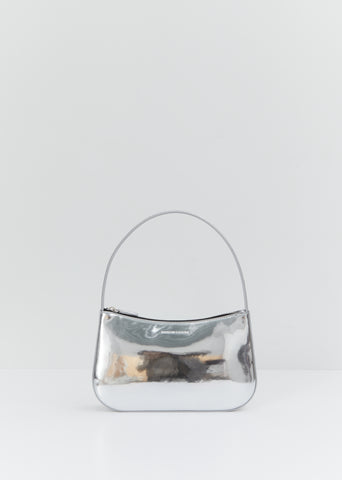 Metallic Lady Bag — Silver
