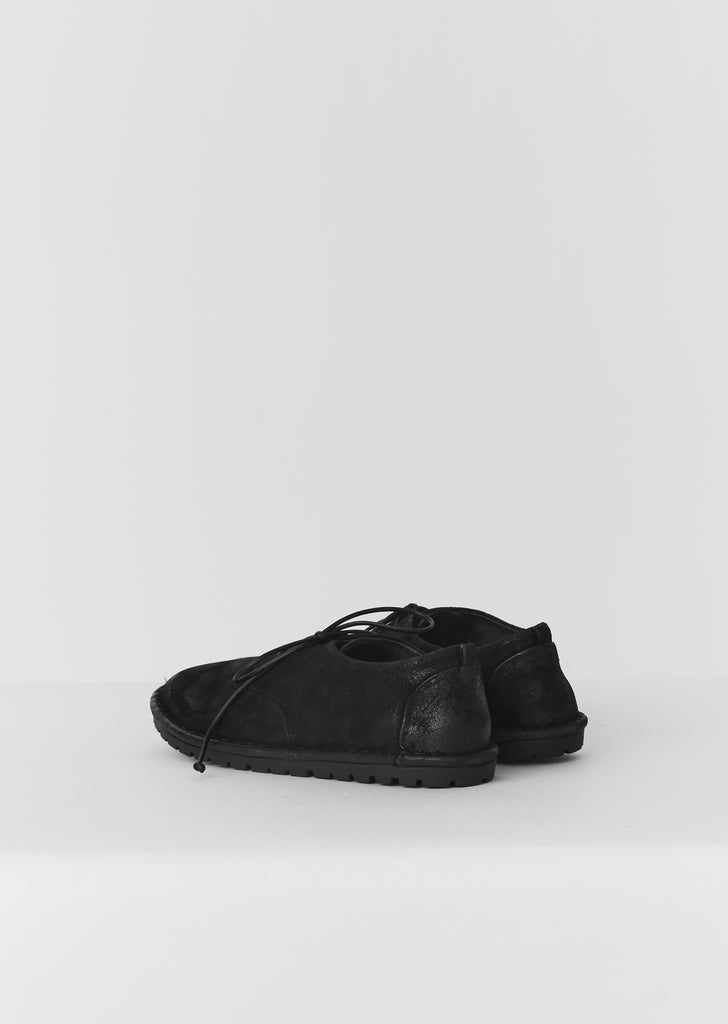 Sancrispa Flat Derbies — Black