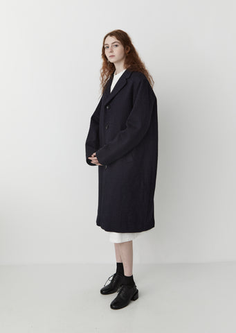 Kumo Gakaru Wool Coat