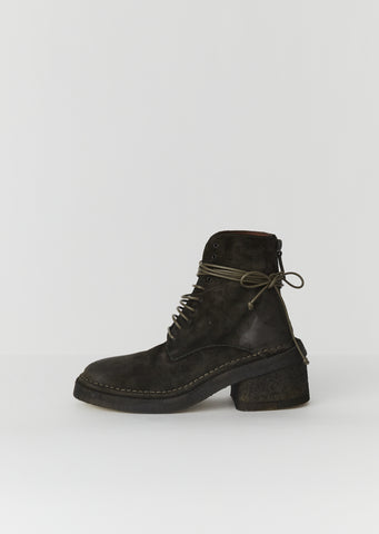 Burraccio Suede Lace Up Boots