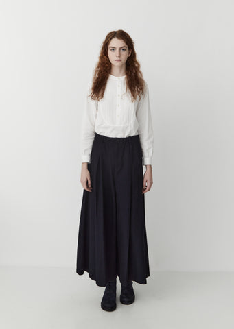 Sashiko Tucked Pants