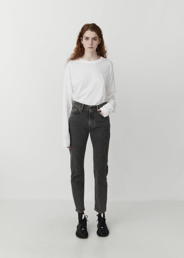 Melk 5-Pocket Denim — Black Pepper