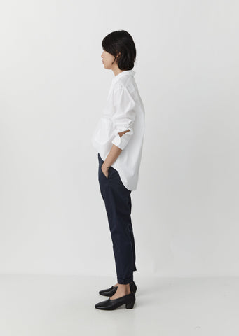 News Edit Trouser — Dark Blue