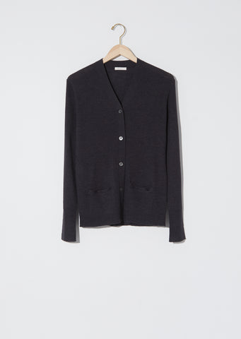 Poor Boy Cardigan — Charcoal