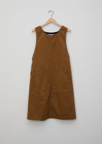 Washed Cotton Drill Dress