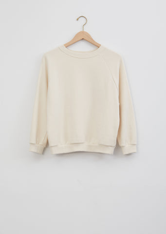 Studio Sweatshirt — Chalk