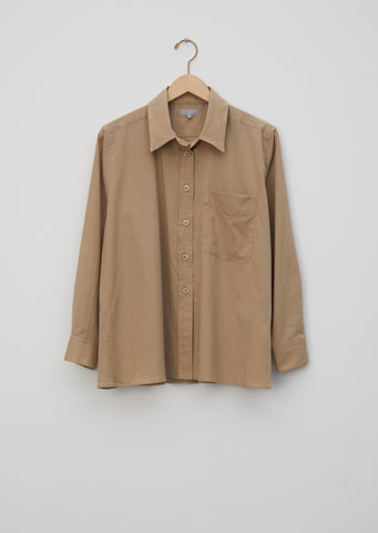Cotton Twill Swing Shirt