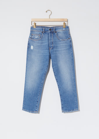 Shorty Jeans — Faded Blue