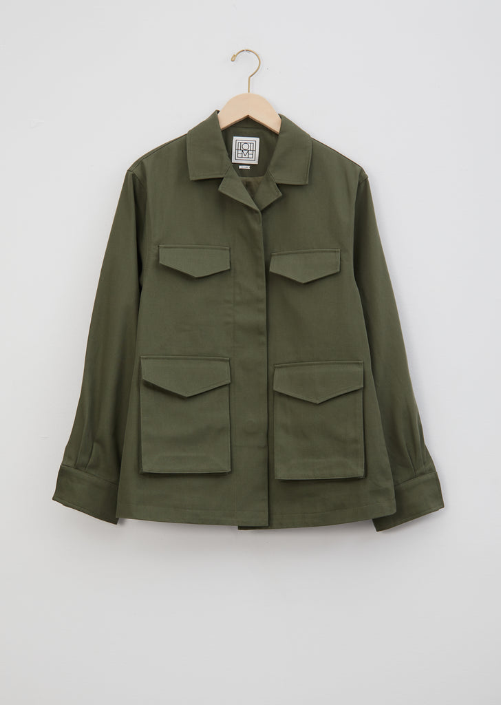 Avignon Cotton Cargo Jacket