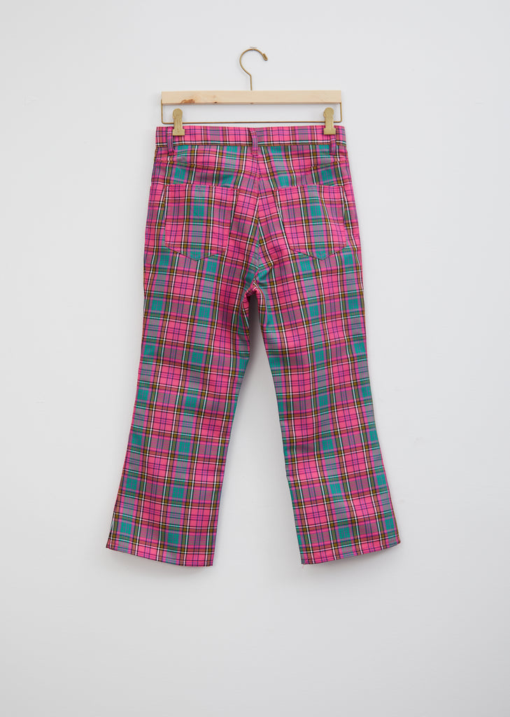 Tartan Check 5-Pocket Trousers