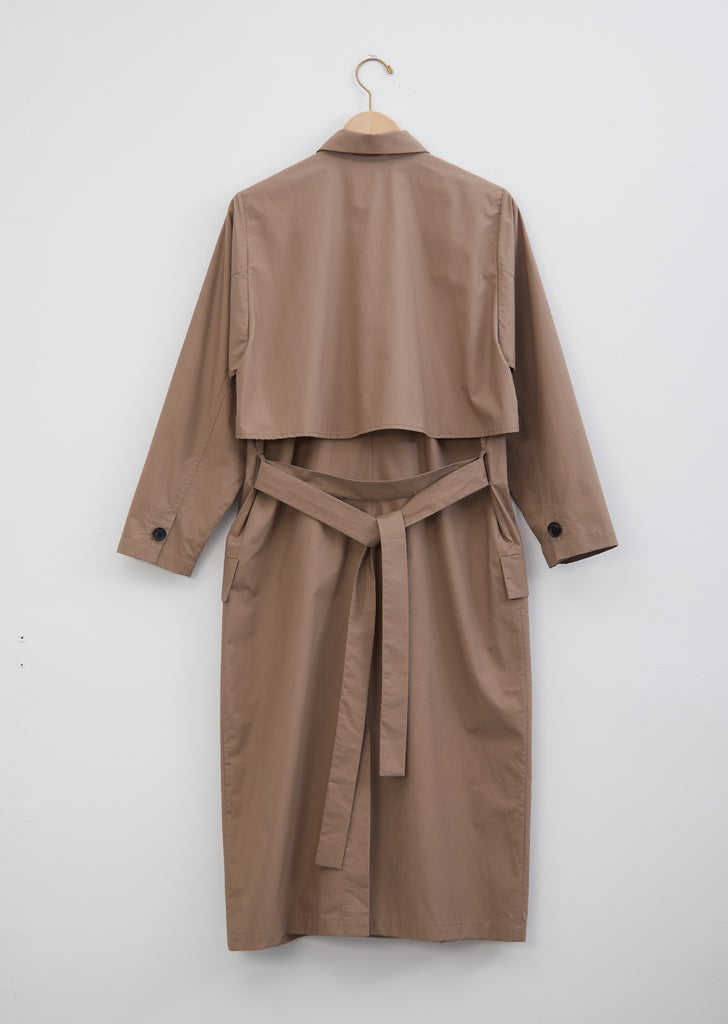 Artist Cotton Trench Coat