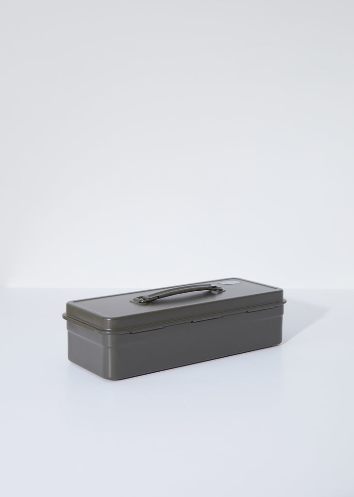 Flat Top Tool Box — Olive Green