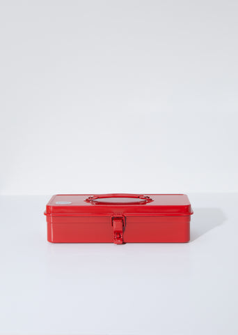 Flat Top Tool Box — Red