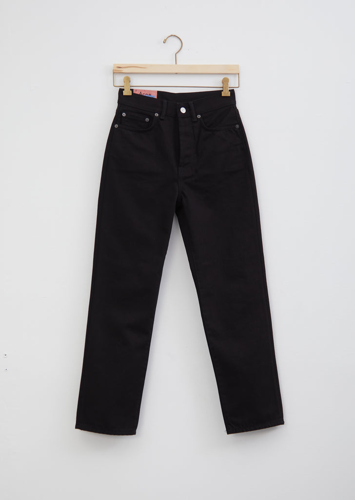 "Mece Stay Black 5-Pocket Jeans — 32"" Inseam"