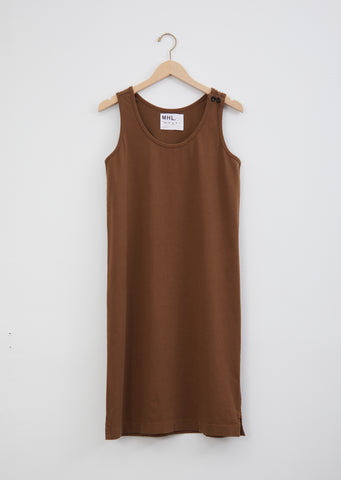 Jersey Button Dress