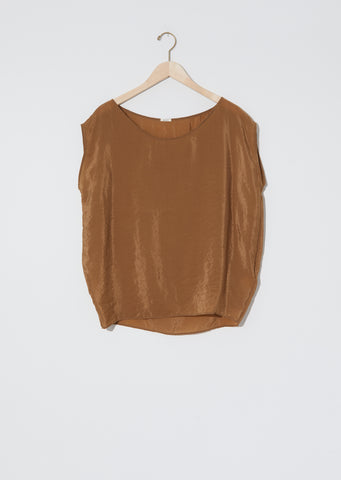 Sleeveless Blouse  — Tabacco