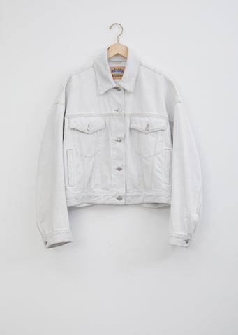 Morris Blonde Sky Oversized Denim Jacket
