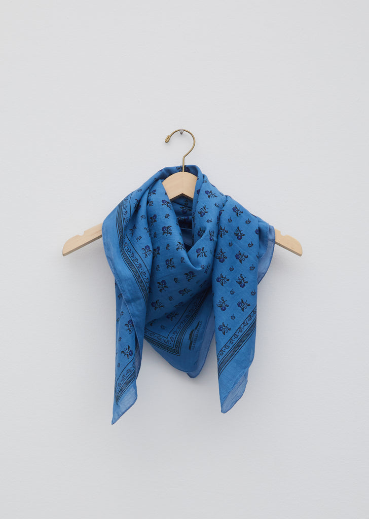 Dutch Blue Foulard Scarf