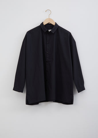 The Draughtsman Poplin Shirt — Flint