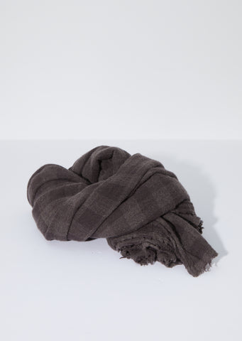 Cashmere Scarf —Chestnut Coffee