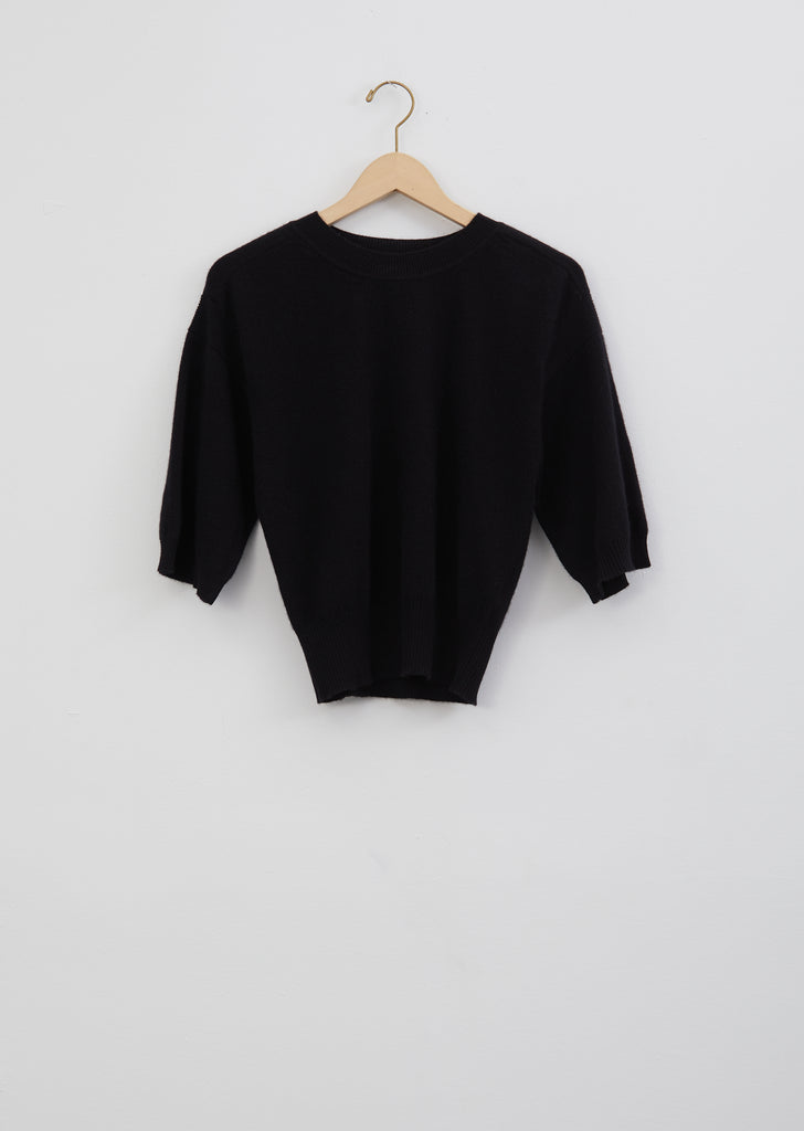 Hao Cashmere Sweater — Black