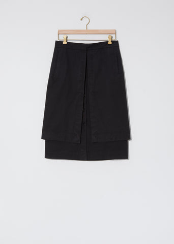 Cotton Double Skirt