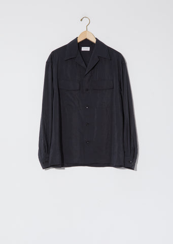 Unisex Convertible Collar Shirt