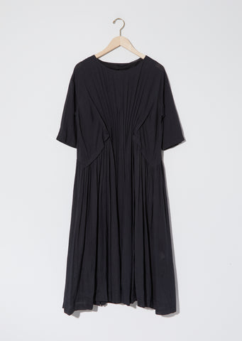 Linen Ruched Dress