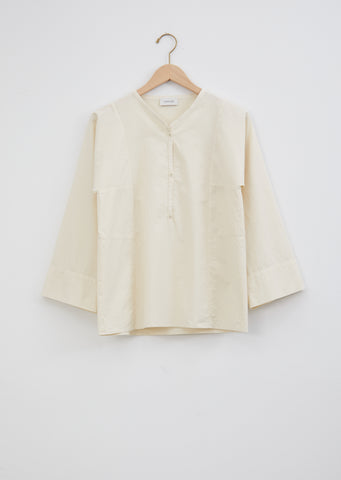 Henley Shirt – Cream