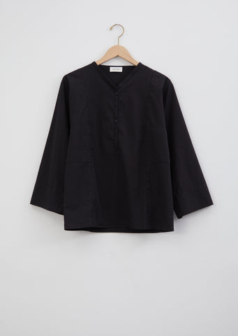 Henley Shirt — Black