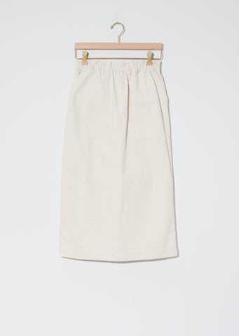 Cotton Serge Skirt