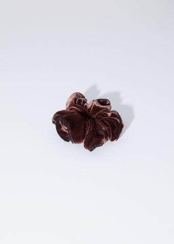 Montaigne Scrunchie — Chocolate