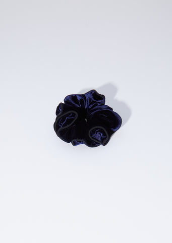 Montaigne Scrunchie — Navy