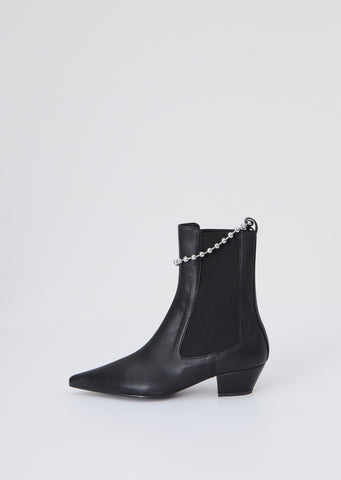 Removable Chain Chelsea Boot