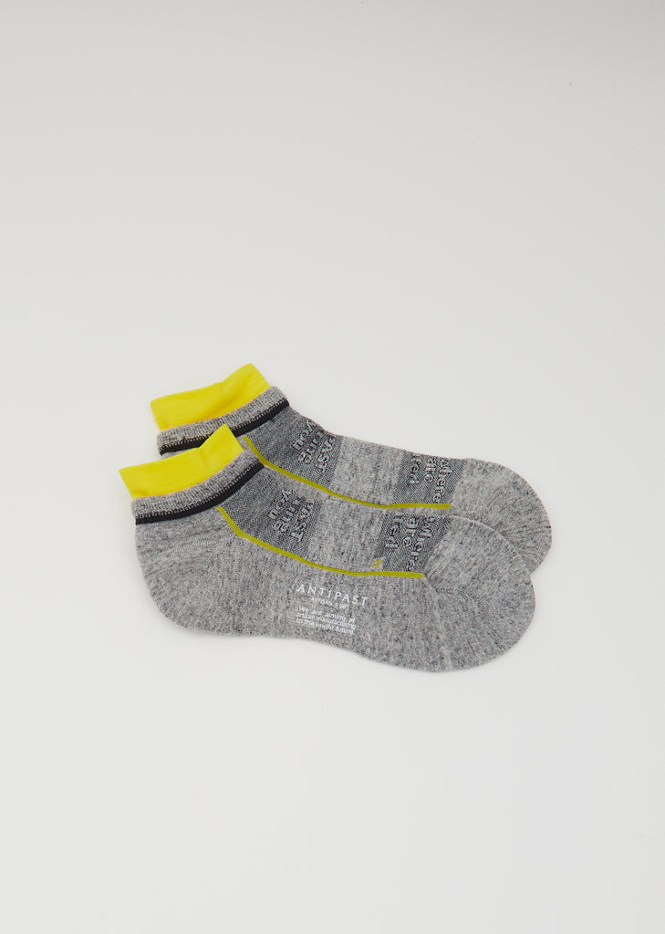 Pile Socks — Mix Grey