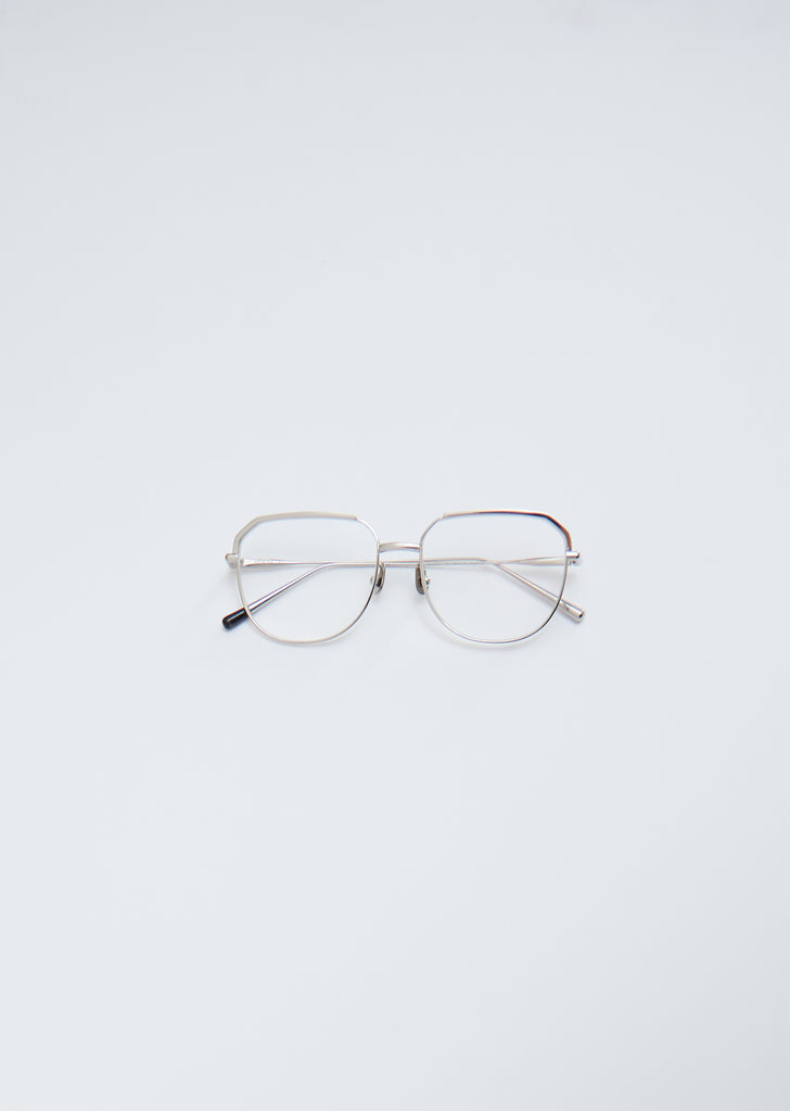 Glasses 024 — Silver / Clear