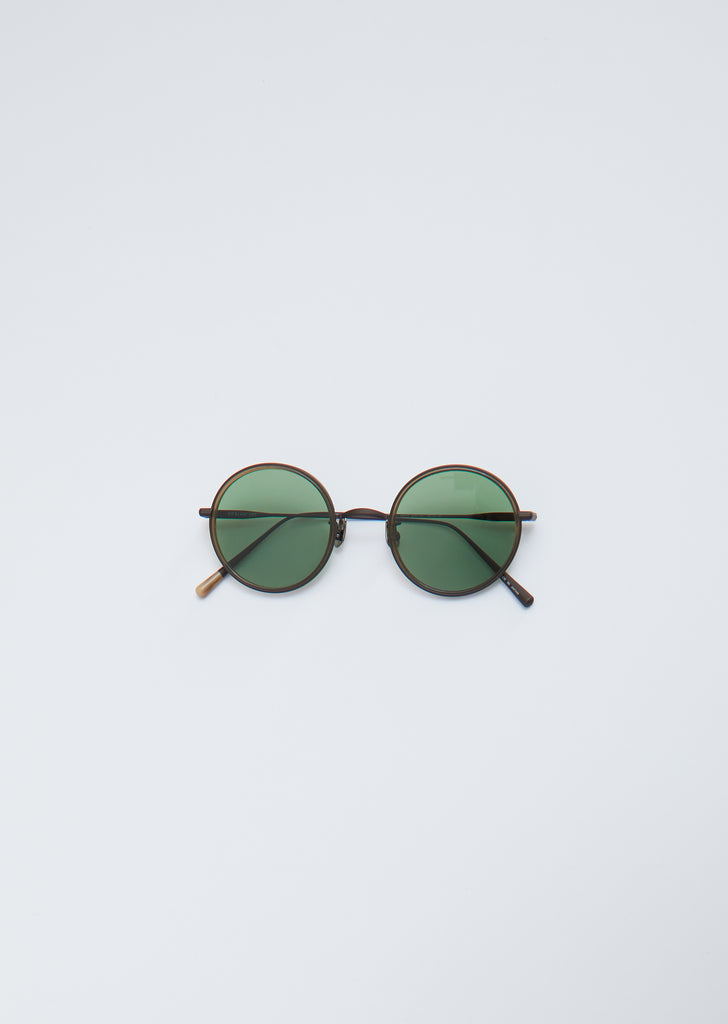 Sunglasses 027 — Brown Mat - Taupe / V. GRN