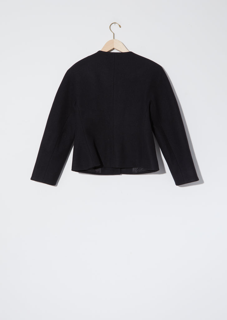 Rounded Shoulder Jacket