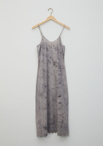 Jane Floral Dye Embroidered Slip Dress