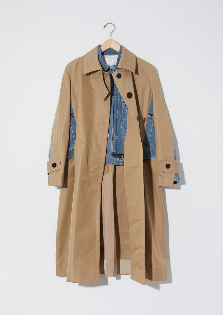 Cotton Gabardine Coat