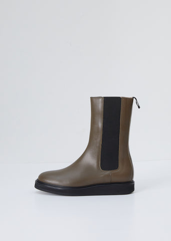 Chelsea High Boot — Olive