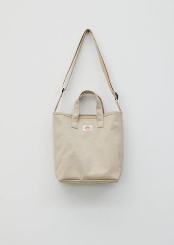 Small Tote — Sand Beige