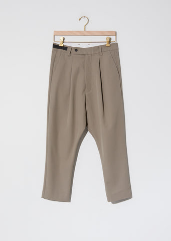 Alo Loose Pleat Pant — Taupe