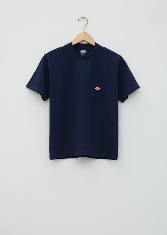 Unisex Pocket Tee — Navy